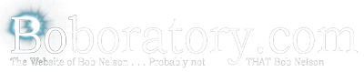 The Blog of Bob Nelson